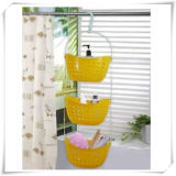 Foldable 3 Tier Hanging Laundry Basket for House Use (VD14001)