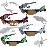Bluetooth Stereo Music Eyewear Glasses Wholesale Bluetooth Support All Mobile Music Glasses Bluetooth Headset (BH-108)