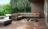 PE Rattan & Aluminum Furniture, Outdoor Rattan Sofa (S0056)