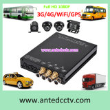 High Quality 4 Channel 1080P Mdvr Automotive Video Recording Camera and DVR with GPS Tracking WiFi 3G/4G