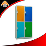 School Dormitory Furniture Modern 4 Door Wardrobe