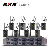 Kx-D718 Eight Channel Wireless Microphone System