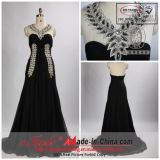 2013 Jueshe New Design Gray Beaded Halter Evening Dress (SZ-J-110309)