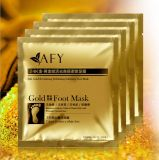 Afy Brand New Feet Mask 24k Gold Foot Peeling Renew Mask Remove Dead Skin