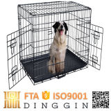 Easily Assembled Wire Dog Cage