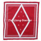 Custom Made Logo Printed Red Cotton Promotional Bandanna