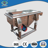 Large Capacity SUS304 Linear Square Vibrate Screening Sifter
