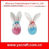 Easter Decoration (ZY13S773-1-2 14CM) Easter Bunny Egg Decoration Egg Mold