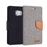 Mercury Flip Leather Mobile Phone Case for Samsung S6