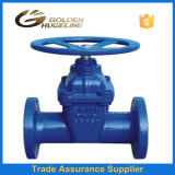 Pn16 DIN F4 Risilient Seat Gate Valve