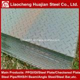 Q235B Mild Carbon Galvanized Steel Checker Plate