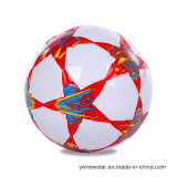 PVC Size 5 Machine Sewing Football/Soccer Ball for Outdoor Sport