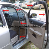 Soft EPDM Rubber Extrusion Sealing Strips for Automobile Parts