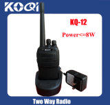 Kq-12 UHF 400-470MHz Waterproof Handheld Walkie Talkie