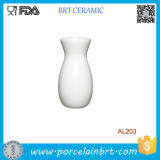 Simple Elegant Design Whie Porcelain Ceramic Vase