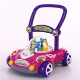 Musical Baby Walker Sit-to-Stand Learning Walker Plastic Baby Walker