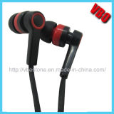 New Design Earbuds Cheap in-Ear Earphone with Flat Cable