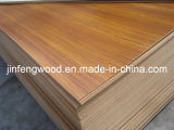 High Quality Exported Standard E1 Glue AAA Grade 1220*2440*3mm Teak Melamine MDF Board