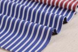 Poly/Cotton 100GSM Stripes Yarn Dyed Shirt Fabric