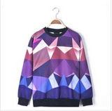 Custom Nice Cotton/Polyester Printed Hoodies Sweatshirt of Fleece Terry (F074)