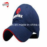 Navy Blue Round Brim 3D Embroidery Baseball Cap