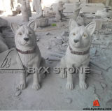 Granite Animal Stone Carving Sculpture / Statue for Outdoor Garden