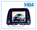 Double DIN Car DVD Player for Mazda Cx-5 with GPS/Bt