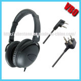 Over Head Version Noise Cancelling Headset for Airlines