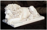 Artificial Caving Lion Sculpture for Decoration