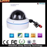 Vandalproof Metal Dome 1080P Onvif Plug and Play CCTV IP Camera (POE)