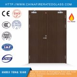Double Steel Fire Door with Thermal Transfer Color