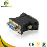 Black Wire Connector DVI Plug HDMI Converter Adapter