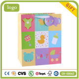 Cartoon Colorful Children Art Coated Gift Paper Bags
