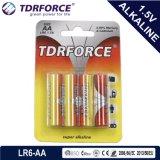 Mercury&Cadmium Free China Factory Ultra Alkaline Battery (LR6/AA Size)