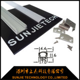 Silver Anodized Aluminum Extrusion Profile for LED Strip Light
