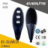 Everlite 180W LED Street Light with IP66 Ik08