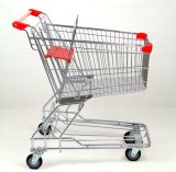 85L Asian Style Supermarket Grocery Trolley Cart Shopping Cart Shopping Trolley
