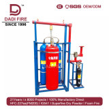 Conveying Far Distance External Pressure Assisted Gaseous Fire Extinguishing System