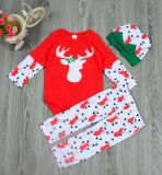 Baby Kids Girl Christmas Romper Jumpsuit Outfits Costume