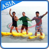 Yellow Color Inflatable Floating Water Walking Shoes for Adults