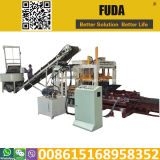 Qt4-18 Automatic Hydraulic Machinery Equipment for Manufacturing Pavers in Ghana and Senegal