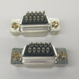 HD-Sub 15 Pin Female Solder Type with Nut