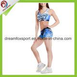 Custom Cheerleading Uniforms Sublimated Printing Cheerleading Practice Wear tights