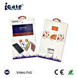 4.3 Inch 110mm*180mm Video Card Box with Body Sensor