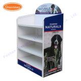 Floor Standing Heavy Duty Retail Metal Dog Food Storage Rack