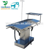 New Design Fully Stainless Steel Electric Operation Table with Tray Animal Operation Table
