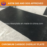Bimetallic Wear Plate with Hardfacing Overlay