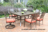 Cast Aluminum 7 PC Dining Garden Set Furniture
