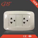 South American Standard Electrical Extension Wall Switch Socket