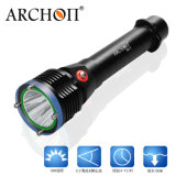 New Arrival Max 1200lm Scuba Diving Torch Light LED
